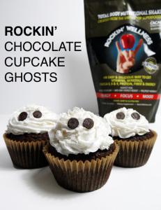 Rockin' Wellness Ghost Cupcake Recipe