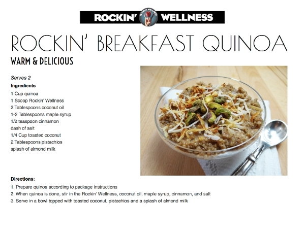 rockin'breakfastquinoa